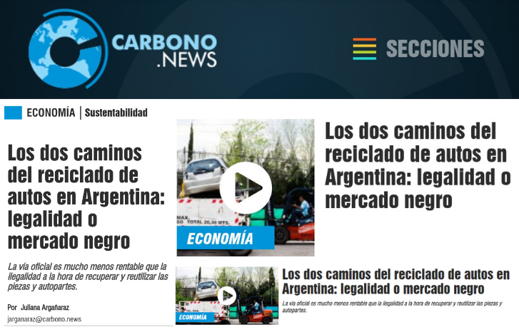 CARVA EN CARBONO NEWS